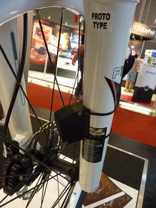 Eurobike 2011: Integrated Wireless Technology sebességmérő szenzor a telón
