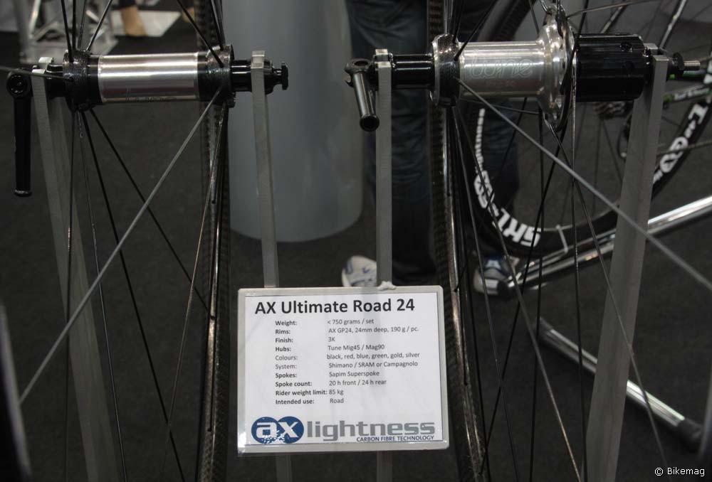 Eurobike trendek: újdonságok országútra – AX Lightness