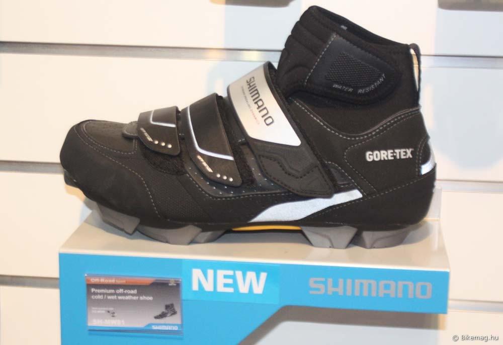 Eurobike 2011: Shimano SH-MW81