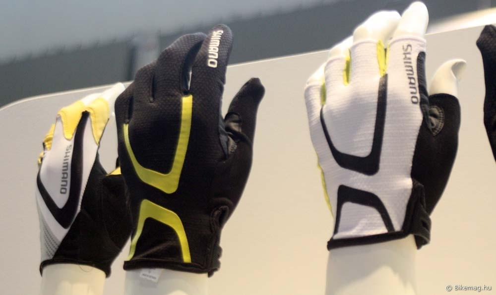 Eurobike 2011: Shimano kesztyűk