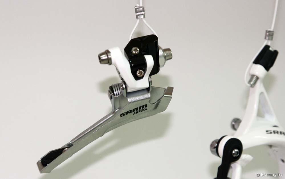 Eurobike 2011: Apex első váltó fehérben