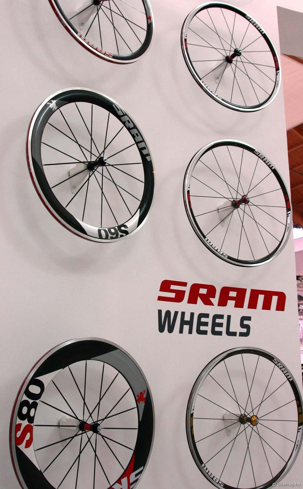 Eurobike 2011: verseny kerékszettek