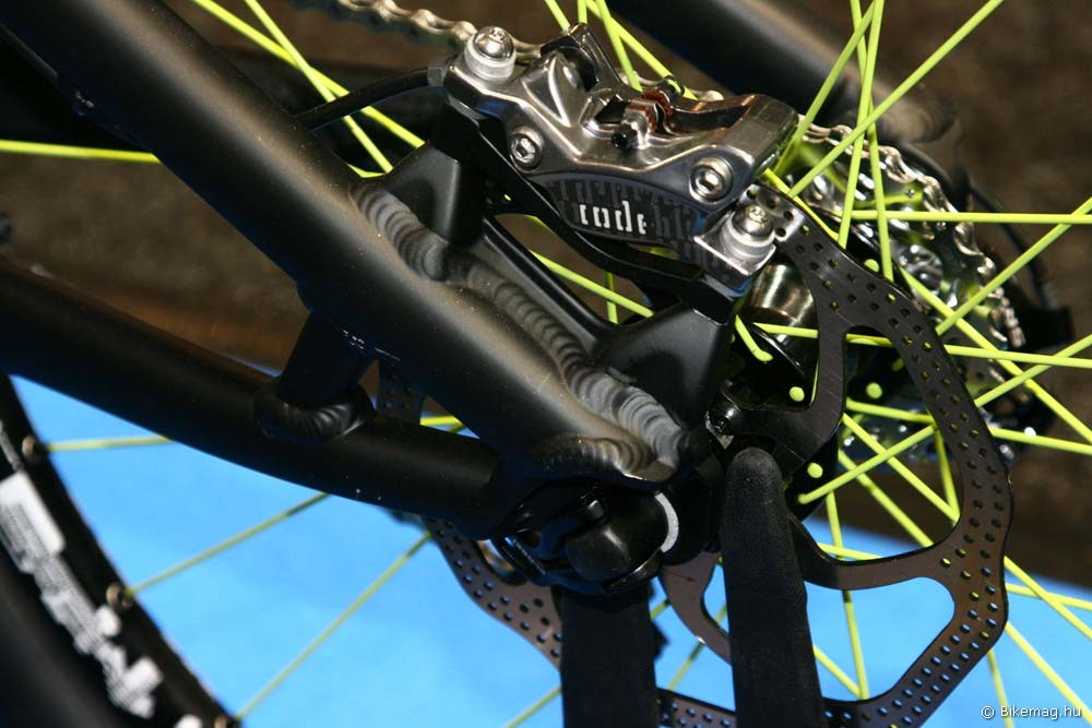 Eurobike 2011: X12 tengely és PM tárcsafék konzol a Freddy-n