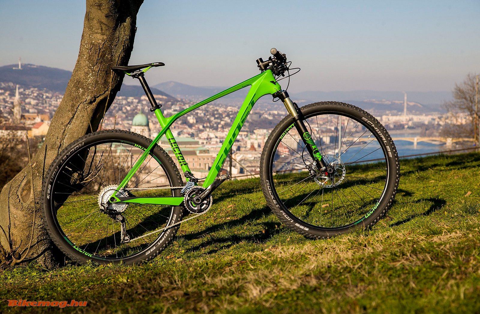 Ghost Lector LC6 kerékpárteszt