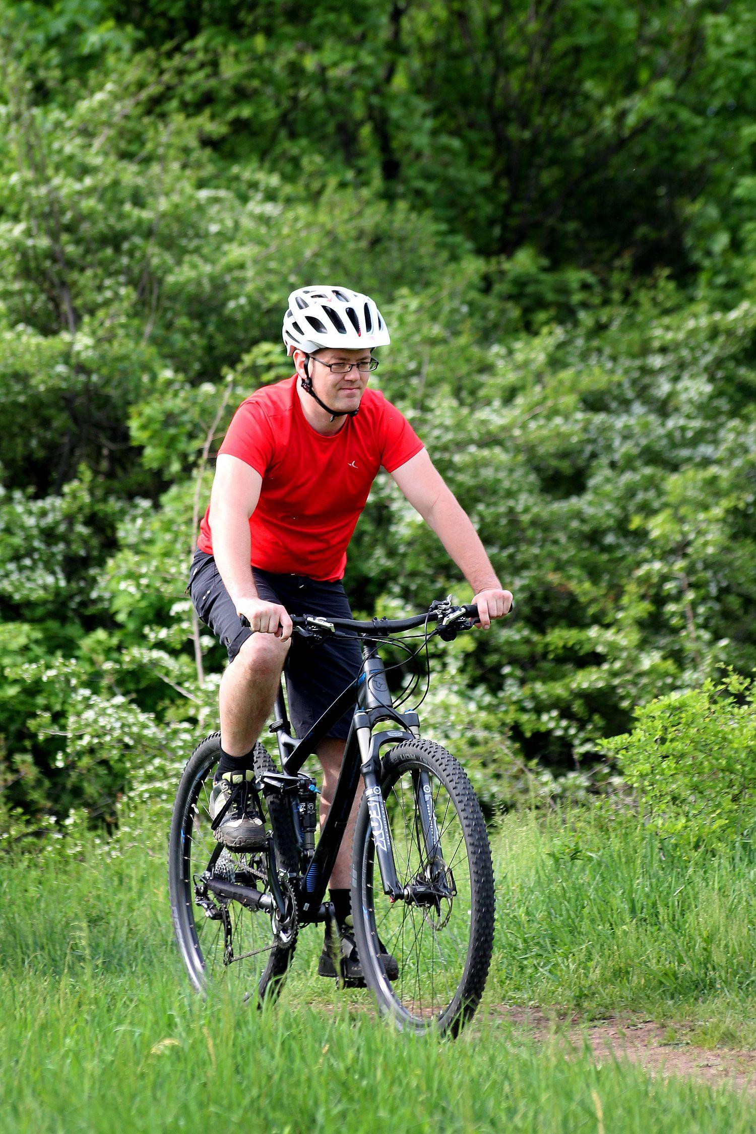 Engem annyira meggyőzött, hogy én biztos, hogy nem veszek többet magamnak 26-os kerekű biciklit.