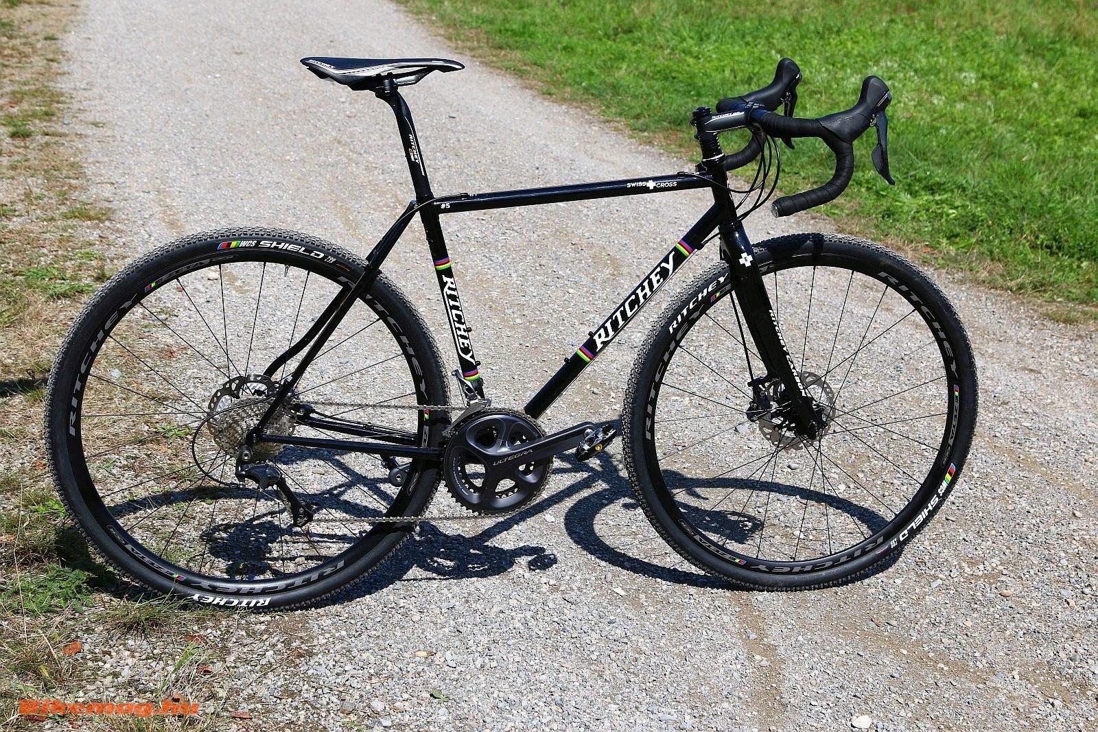 A Ritchey Swiss Cross-ról nehéz megmondani, hogy cyclocrsoss vagy gravel bike