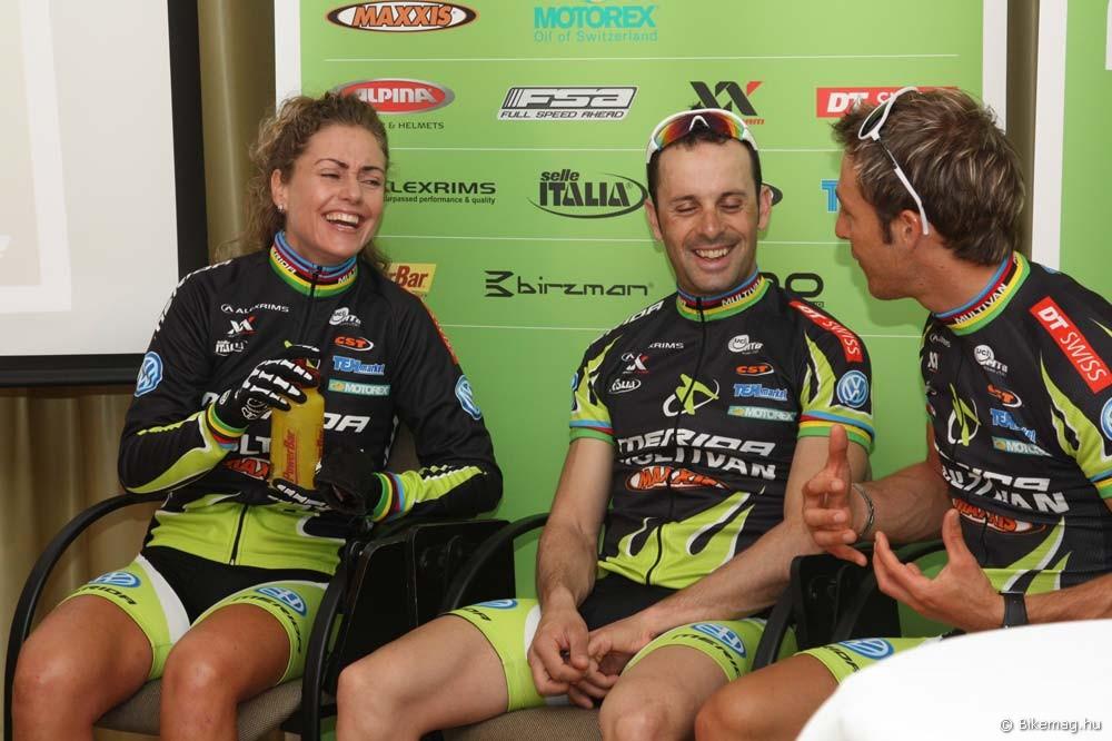 Team Presentation 2010: a csapatban uralkodó jó hangulatra garanciát jelent Hermida személye