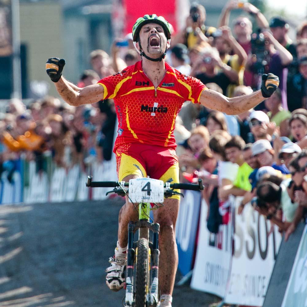 És sikerült: José Antonio Hermida Ramos a 2010-es év XCO világbajnoka