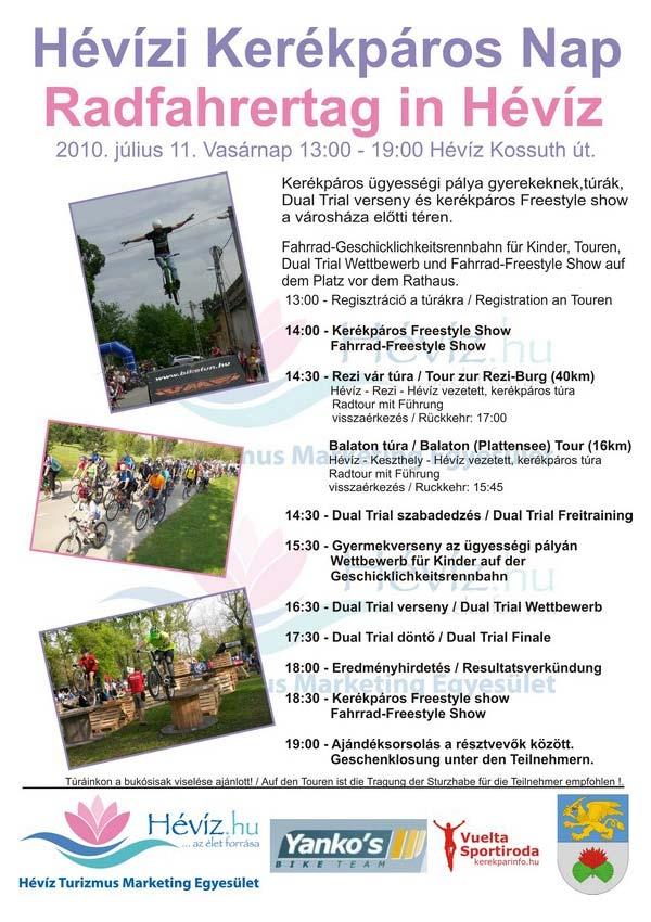 Kerékpáros ünnep Hévízen