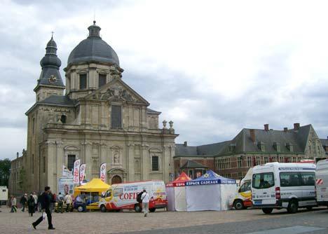 A Tour központ Gentben