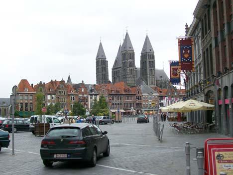 Tournai főtere