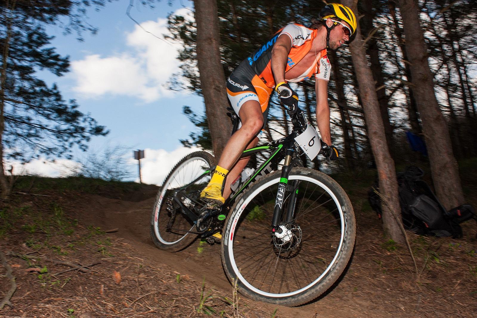 Búr Zsolt az XCO nyitányon is hozta a cyclocross versenyeken már-már bérelt 3. helyét