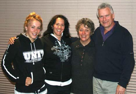 Caroline Buchanan és családja, akiknek nagyon sokat köszönhetek