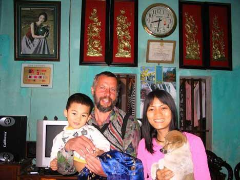 Chi-li faluban Nguyen Thi Nga vendégeként
