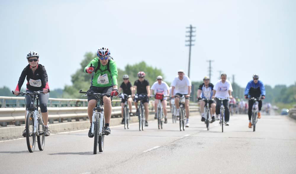 Nevezési rekord és új pályacsúcs a 4. Intersport Tour de Tisza-tó kerékpáros versenyen