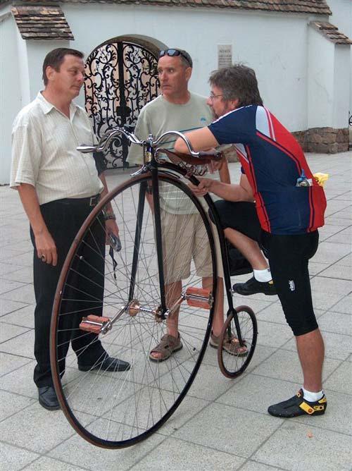 K&H olimpiai kerékpáros nap – Halápi Sándor velocipédista