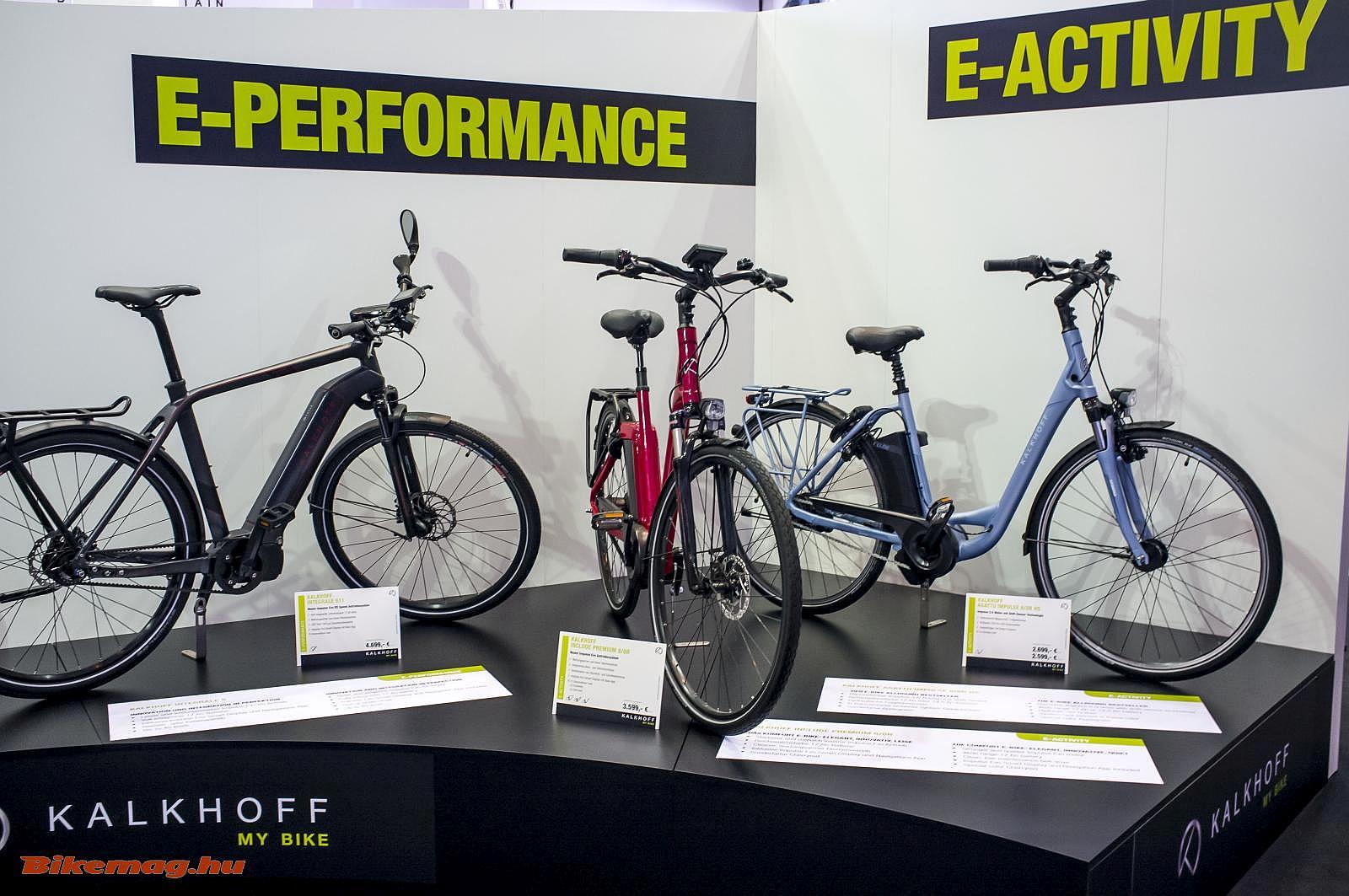 Kalkhoff pedelec kerékpárok