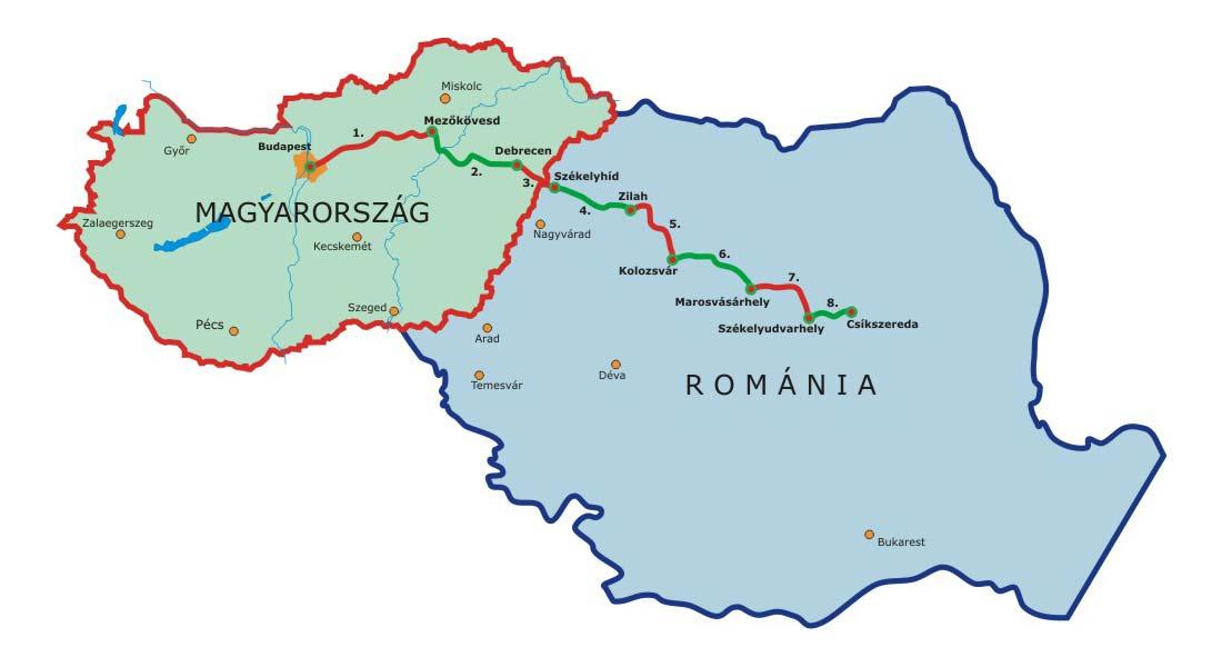 KorszakVáltó Határon-Túra – az útvonal
