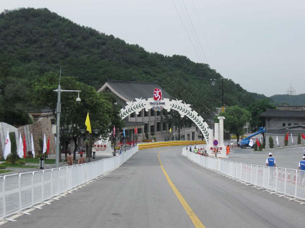 A kerékpáros pálya az olimpián