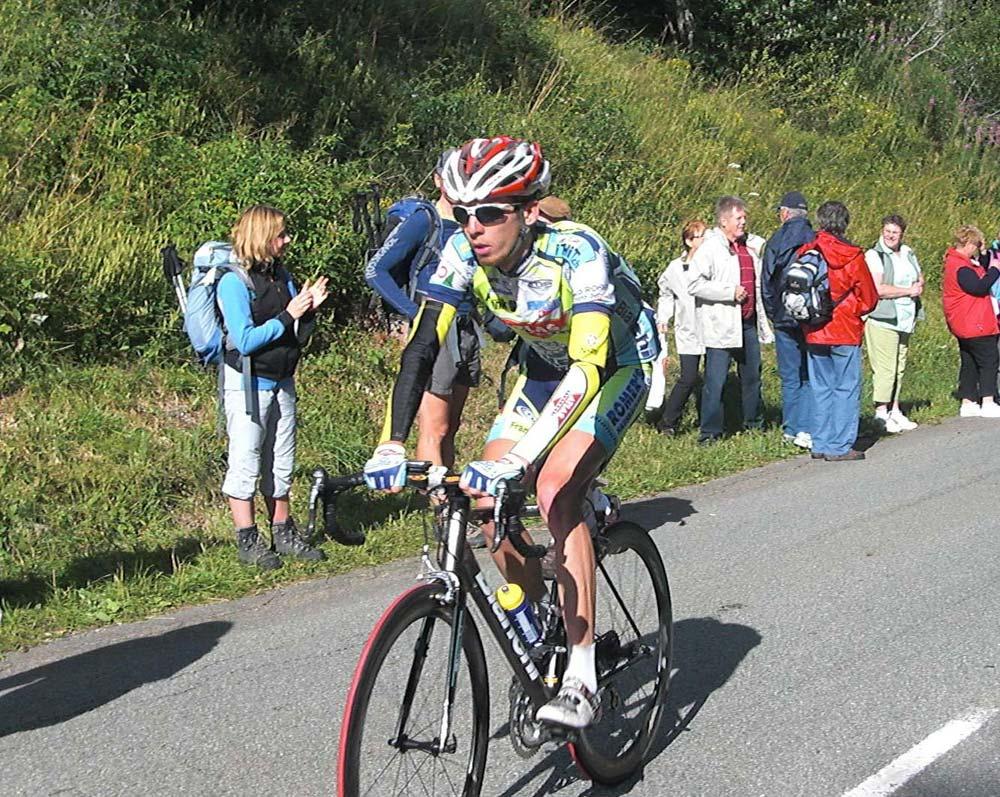 A Tour de Alsace egyik hegyi szakaszán 2009-ben