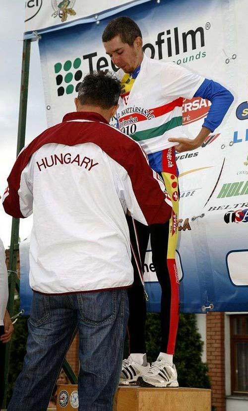 Hosszútávú Országos Bajnokság 2010: a bajnoki mez és a pódium