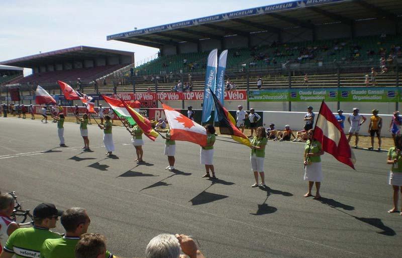2009-ben Káldy Attila tiszteletére lengett a magyar zászló