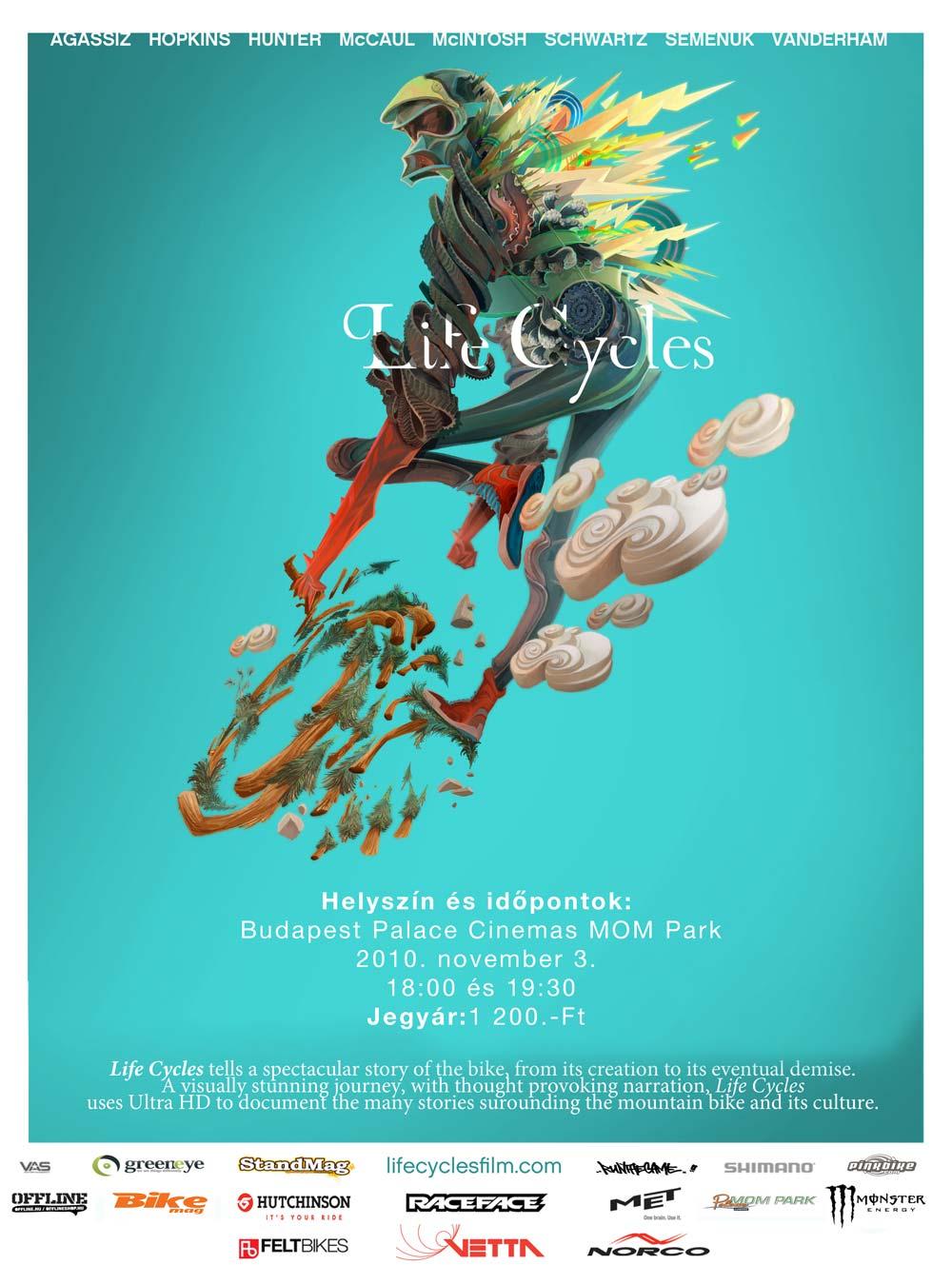 Life Cycles magyarországi filmpremier
