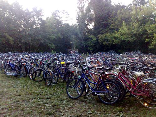A Magyar Kerékpárosklub ingyenes, őrzött kerékpártárolóval várja a fesztiválozókat