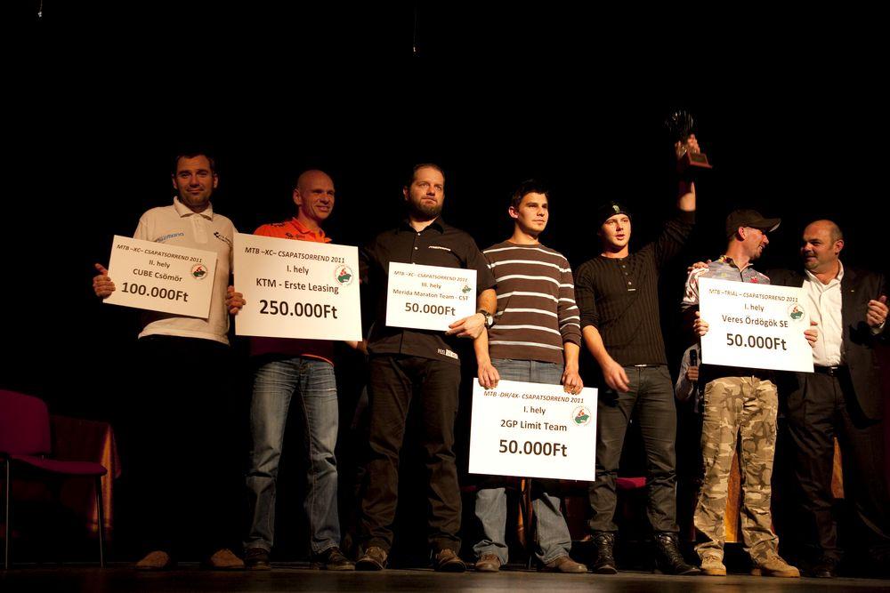 korábbi díjátadó a KÖSZI-ben
