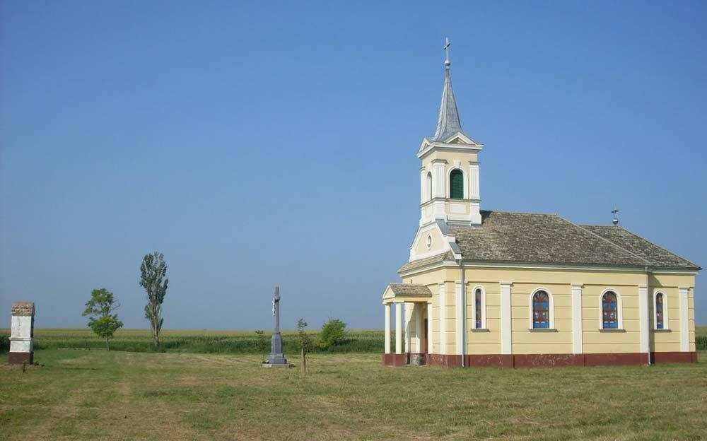 Katolikus templom Gara előtt