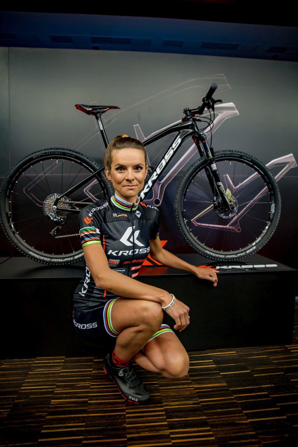 Maja Włoszczowska legfőbb fegyvere 2016-ban a Kross Level B+ kerékpár lesz
