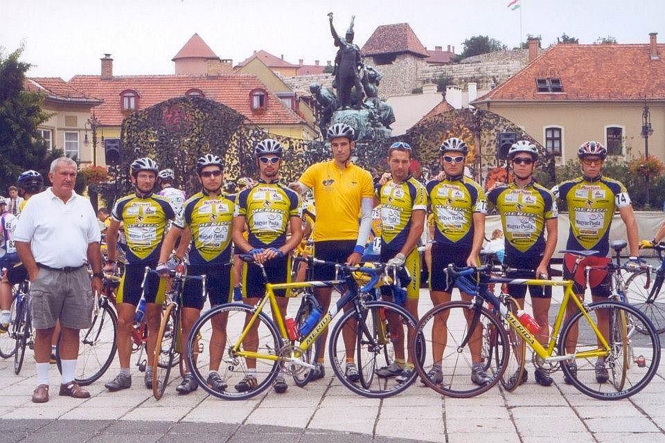 Egy Tour de Hongrie-győztes csapat 2002-ből: Postás-Merida