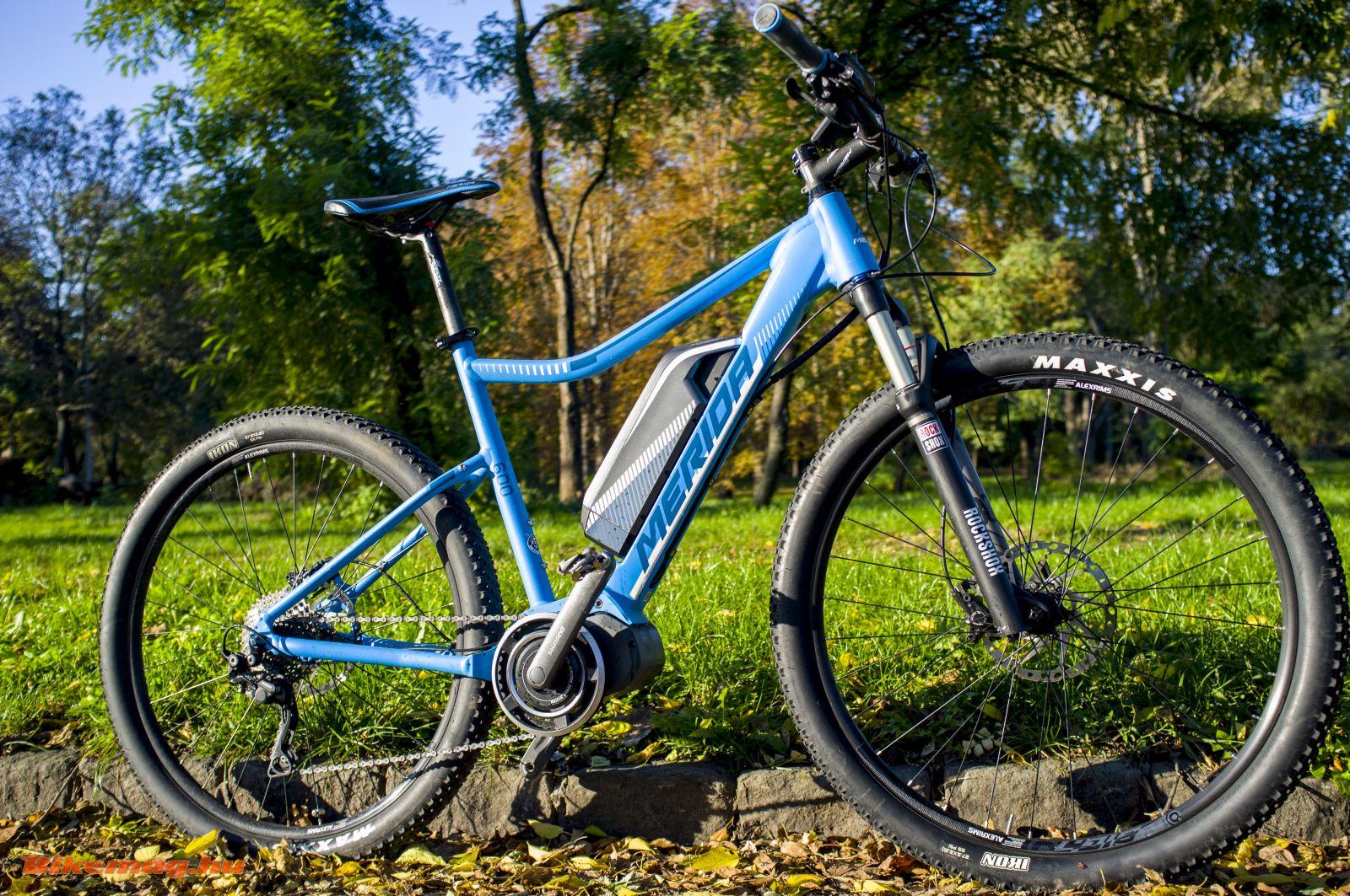 Merida BIG.7 E-LITE 600 kerékpárteszt