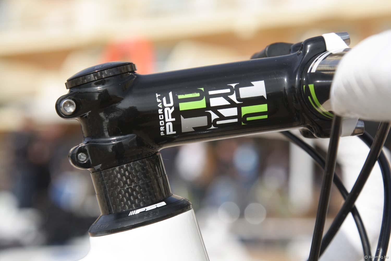 Merida Reacto Team 2012 kerékpárteszt: a tesztgépeket PRC kiegészítőkkel szerelték