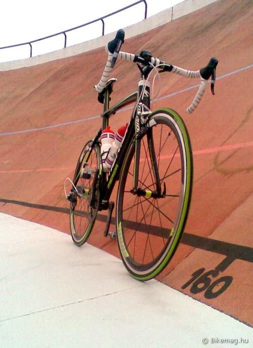 Merida Reacto Team 2012 kerékpárteszt: idegen közegben is jól helytállt – egy kis kiruccanás a pályabringázás világába