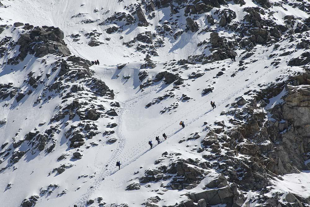 Két keréken a Mont Blanc-ra