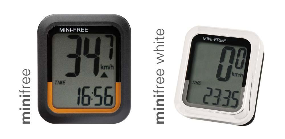A MiniFree alapváltozata, és az új, fehér verzió