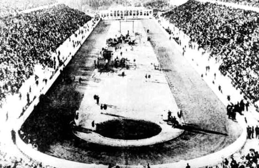 Az első újkori olimpiai játékok stadionja Athénban