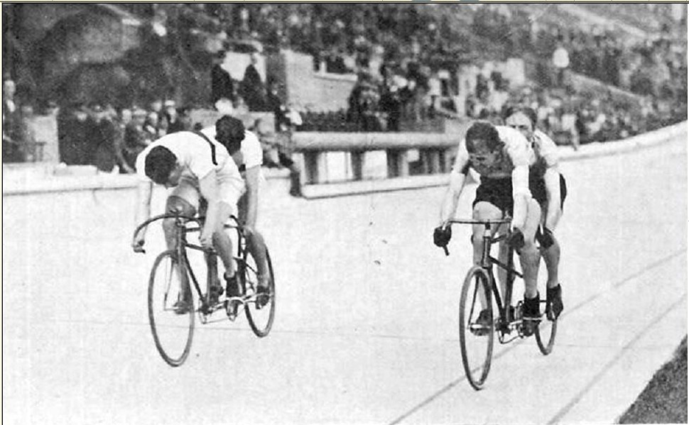Tandemek versengése az 1928-as olimpián