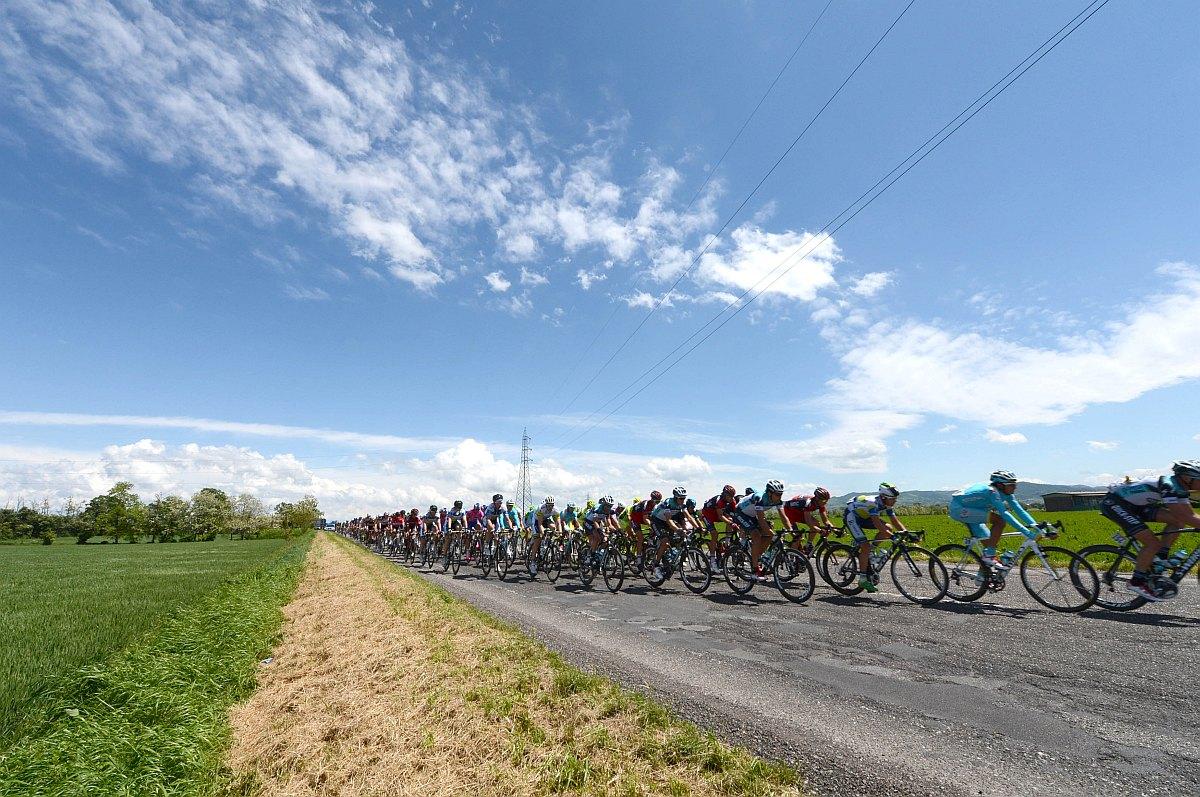 Az első 175 kilométer teljesen sík volt (Fotó: Stefano Sirotti - sirotti.it)