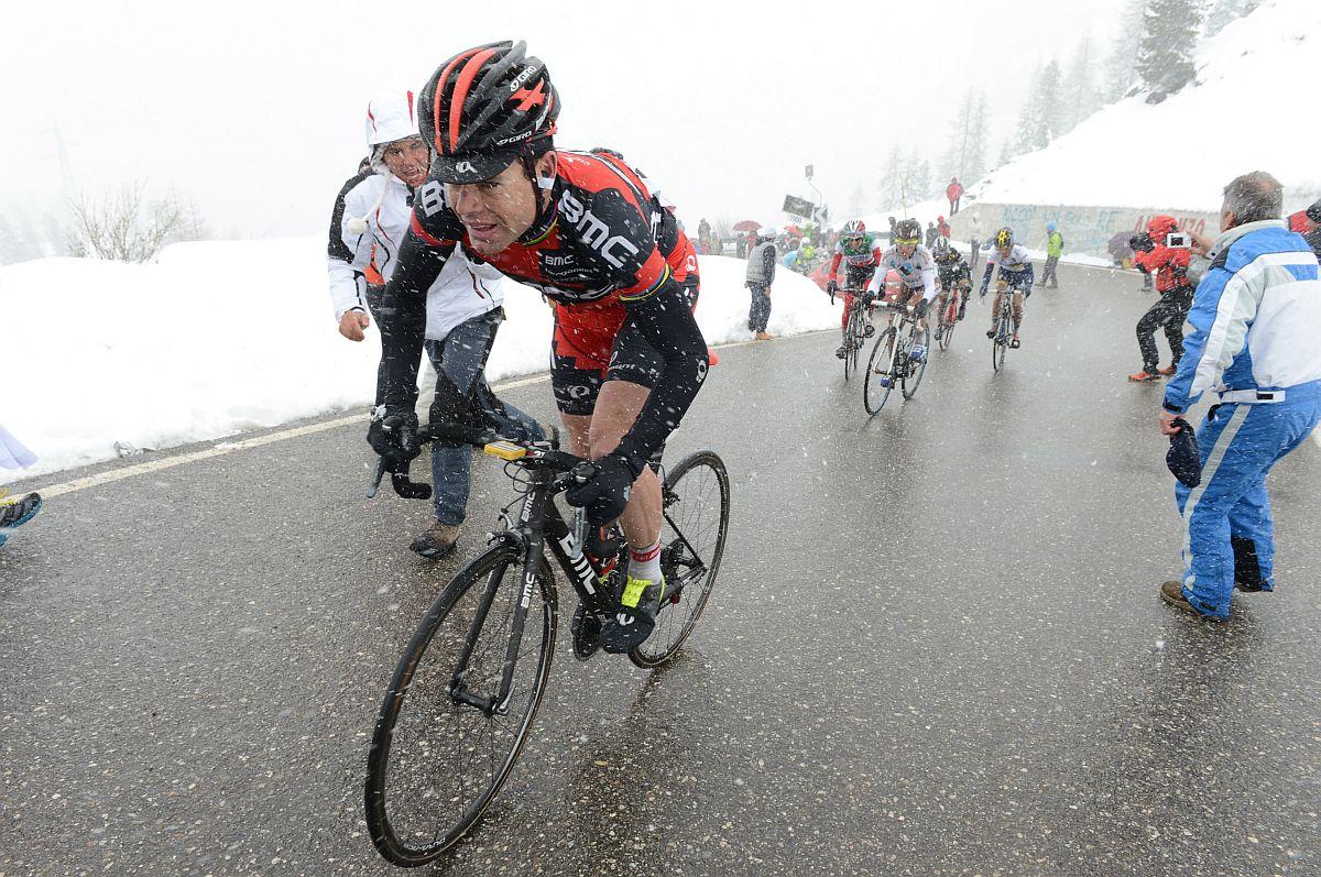 A nap másik hőse: Evans (Fotó: Stefano Sirotti - Sirotti.it)