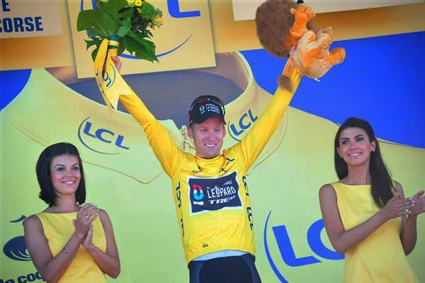 A Radio Shack-nak Cancellara távollétében is összejött a sárga trikó