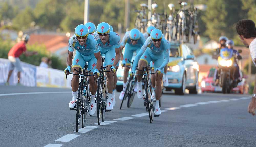 Az Asztana iszonyú gyors volt ma (Fotó: Stefano Sirotti)