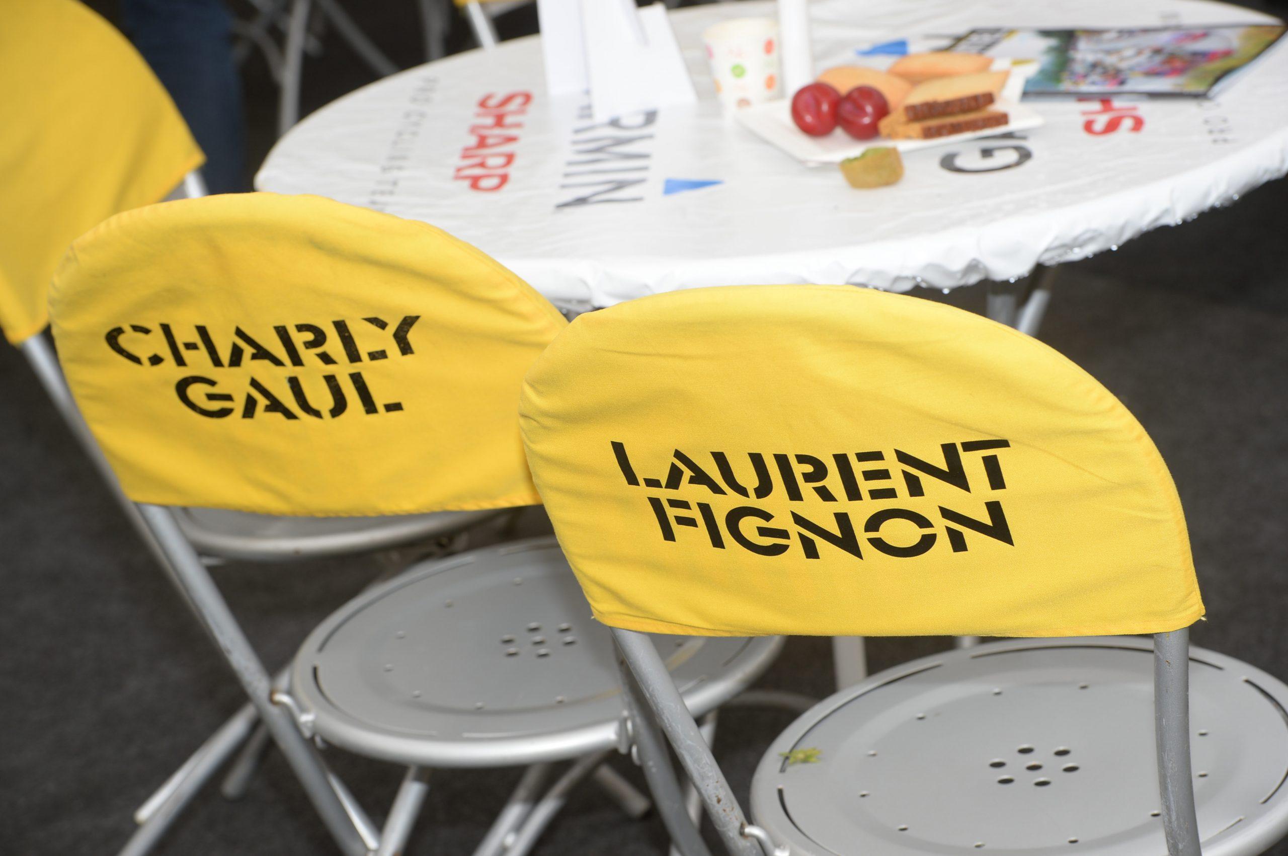 A rajtnál minden klappolt: a székeken a korábbi győztesek nevei.