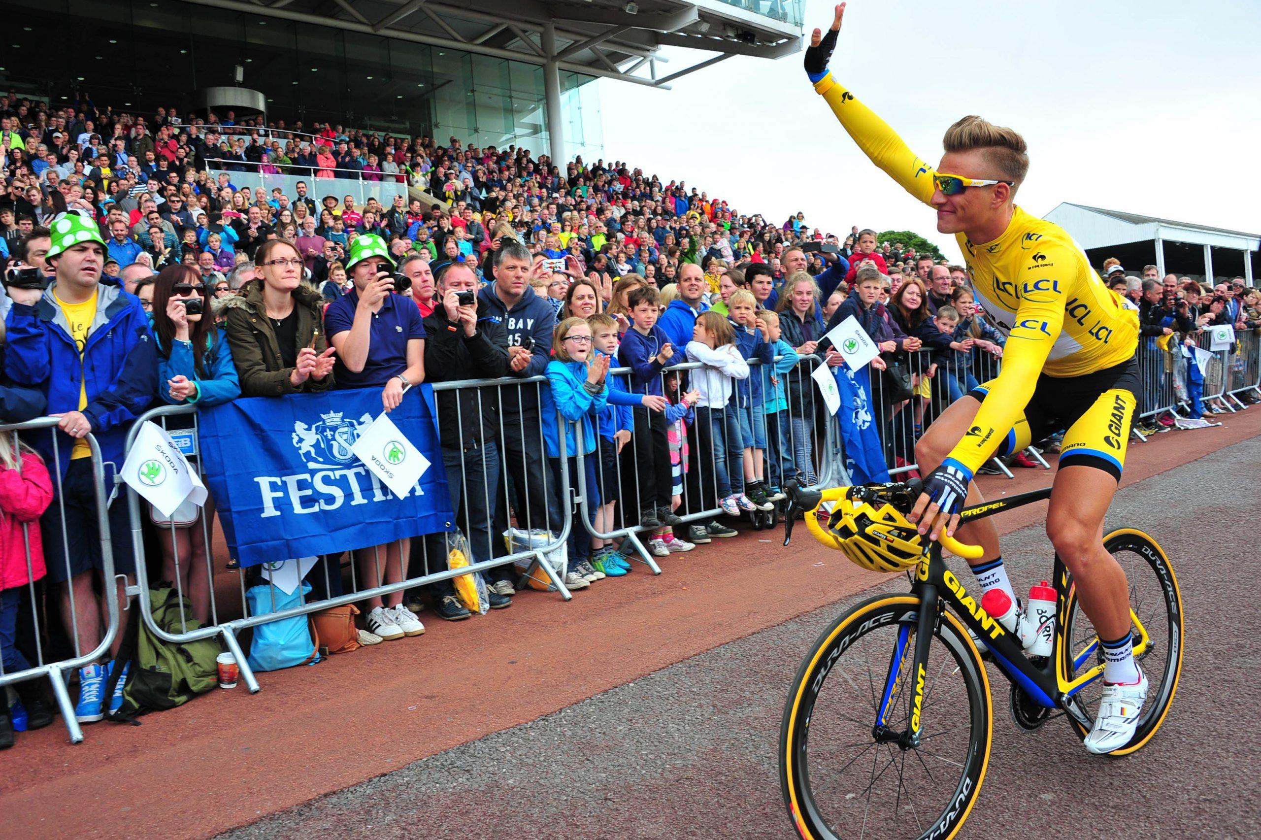 Ahogy egy évvel korábban, idén is egy nap után elköszönt a sárga trikótól Marcel Kittel (Fotó: Stefano Sirotti / sirotti.it)
