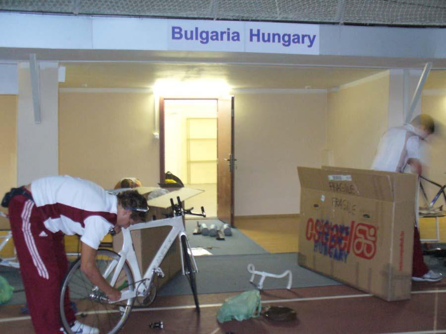 A magyar-bolgár csapatdepó
