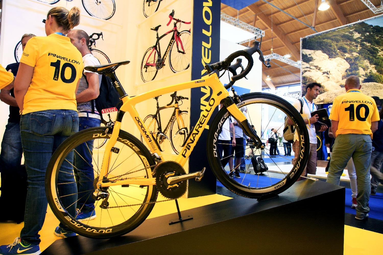 A Pinarello Dogma 65.1 Think 2, amit a mezőnyben használt a Tour de France győztese