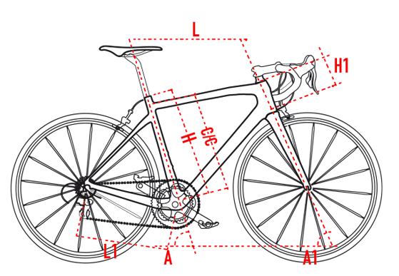 Wilier GTR Team geometria táblázat