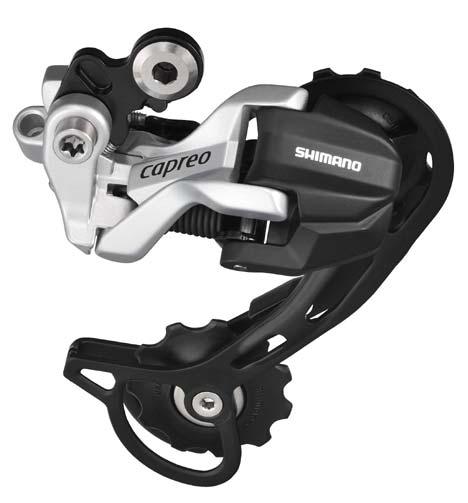A RD-F800 Capreo hátsó váltó rövid és hosszúkanalas verzióban egyaránt elérhető lesz