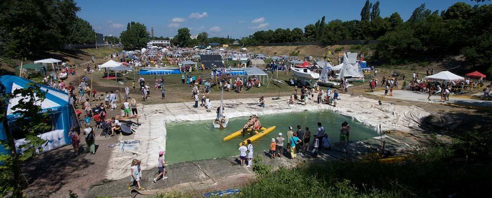 A 2009-es rendezvény látképe